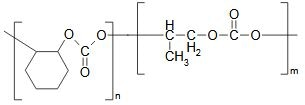 Chemical Structure of Poly (cyclohexene propylene carbonate)