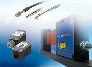 Optical micrometers, fiber optic sensors and fiber optics
