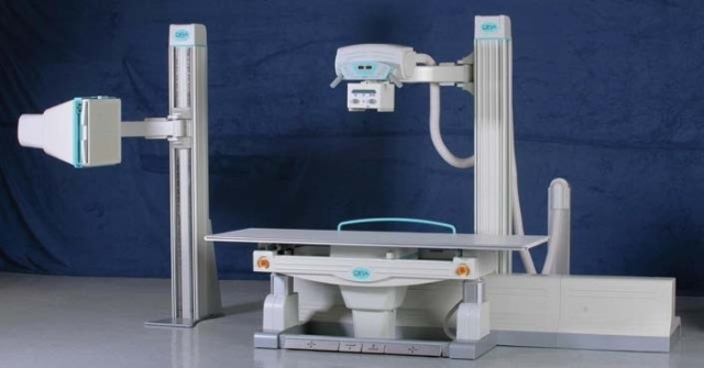 Position measurement on X-ray machines