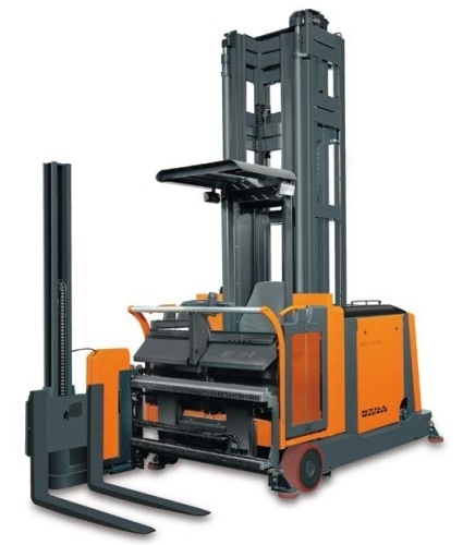 Lift-height measurement in fork-lift trucks