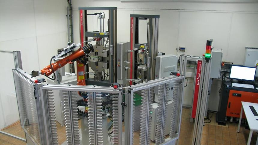 ZwickRoell Robotic Testing System