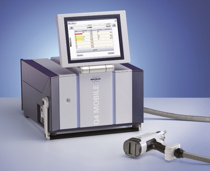 Q4 MOBILE - Mobile Optical Emission Spectrometer for PMI testing, alloy identification and analysis