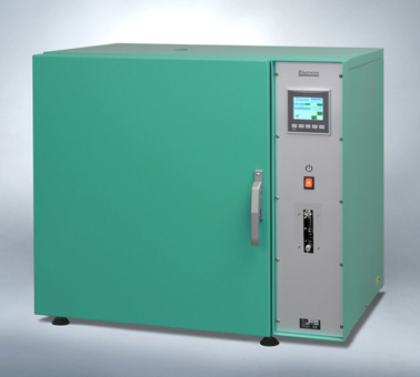 Cabinet ageing oven EB 04-II for rubber and plastic materials from Elastocon AB. Image credit: Elastocon.