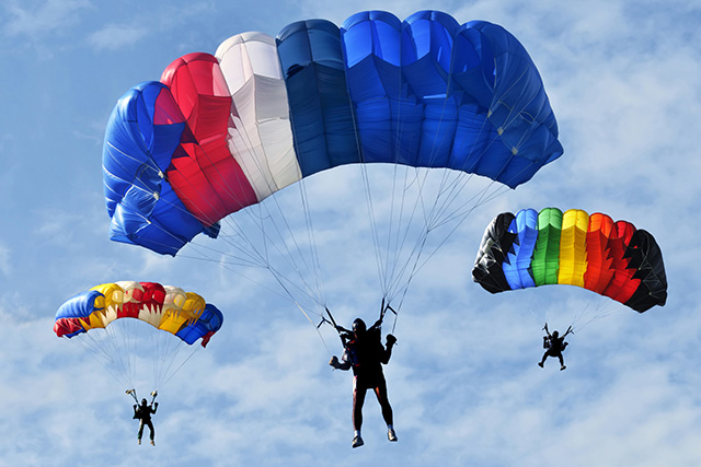 how to make very easy parachute