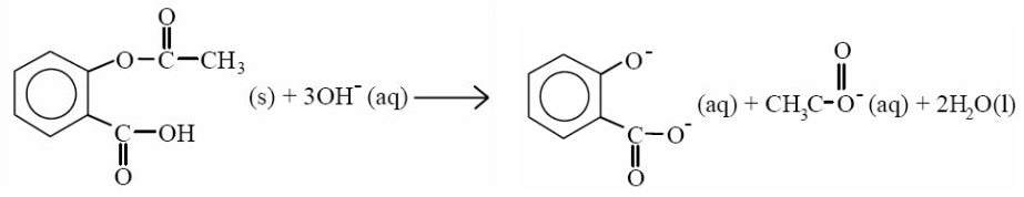 determination of aspirin Aspirin or acetylsalicylic acid is used as analgesic and anti-inflammatory component of many otc compositions it is weakly acidic and slightly hydrophobic compound caffeine is xanthine alkaloid which is psychoactive stimulant drug.