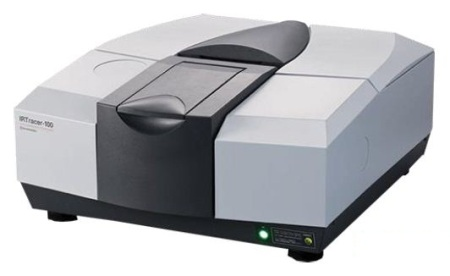The Shimadzu IRTracer-100 FTIR spectrophotometer