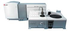 Beckman Coulter LS 13 320 Particle Size Analyzer with the Aqueous Liquid Module (ALM) and the Auto Prep Station.