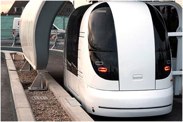 Personal Rapid Transit Pod used as Heathrow.