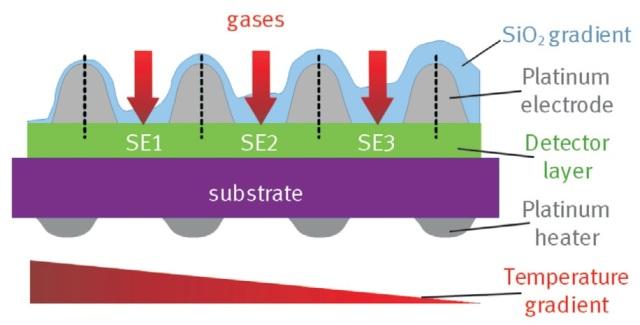 The Karlsruhe Micro Nose Kamina Gas Sensor Micro Array