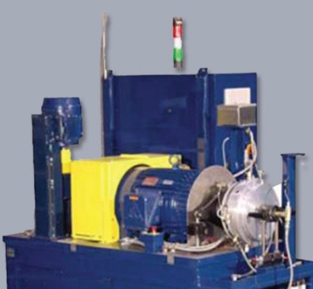 Full-Scale clutch tests are conducted on test systems, such as the SAE #2 Friction Test Rig.