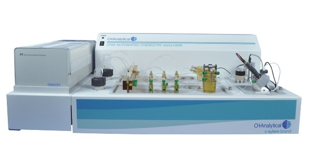 OI Analytical Flow Solution™ 3700 cyanide analyzer for ASTM D 7511- 09e2.