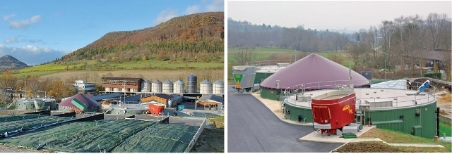 "The research biogas plant ""Unterer Lindenhof"" is located on the Swabian Alb (German state of Baden-Württemberg) and is part of the Research Station for Livestock Farming and Animal Breeding."