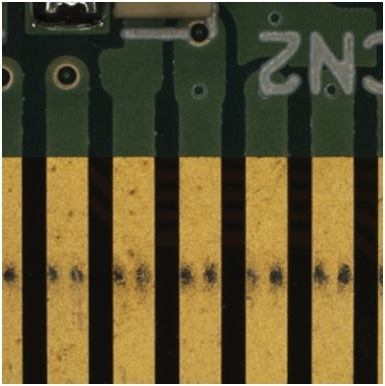 When performing inspection with a traditional microscope, it is often impossible to image the inner pattern of the circuit board.