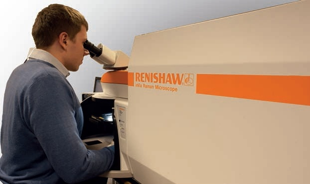 The Renishaw inVia confocal Raman microscope