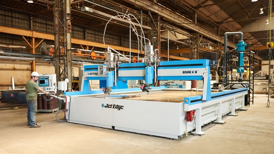 The Advantages and Capabilities of the 5-Axis Waterjet
