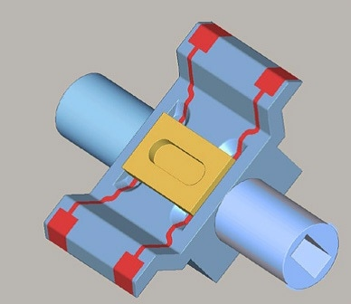 MID with MFS 05 Microflowsens component