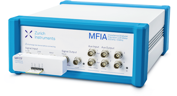MFIA impedance analyzer