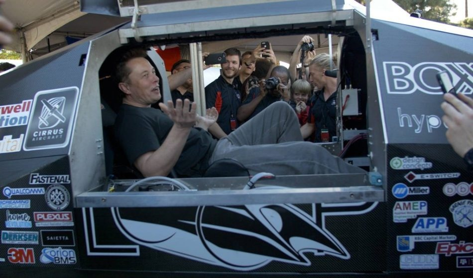 SpaceX's Hyperloop Pod Competition