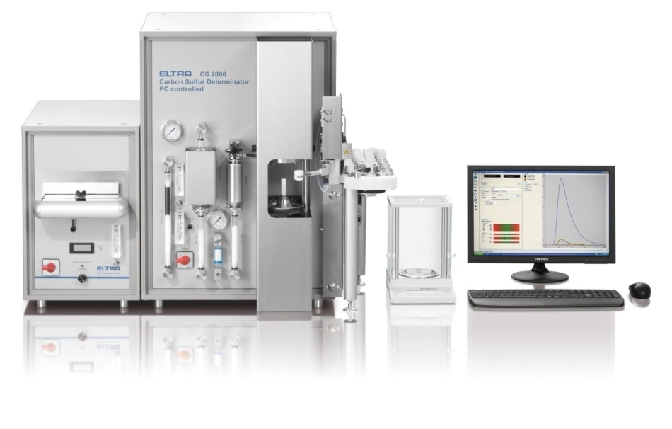 ELTRA's CS-2000 elemental analyzer allows for determination of C and S in both organic and inorganic samples.
