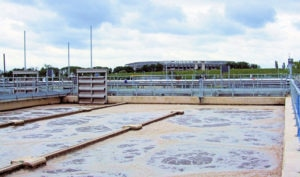 Mogden Sewage Treatment Works