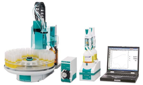 ASTM D8045 was developed using the Metrohm 859 Acidity Analyzer.
