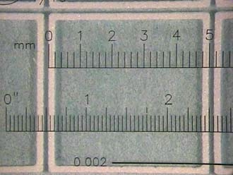 5 mm x 5 mm glass die with 4-edge perimeter seal using B-stage epoxy