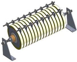 An unspaced Metrosil unit