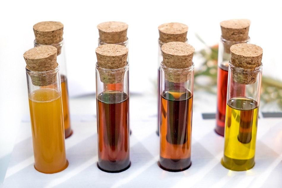 Benchtop NMR systems can be used for the identification of food fraud, such as that encountered in the high value olive oil market. Shutterstock | Luca Lorenzelli