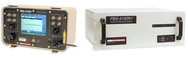 The MTI PBS-4100+ Model (left) and the PBS-4100R+ Model (right)