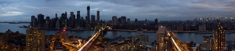 Manhattan Skyline after Hurricane Sandy caused Power Outage | Credit: Reggie Lavoie