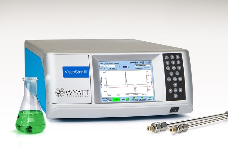 The next generation online differential viscometer - The ViscoStar III from Wyatt Technology  Tell us about the benefits of the ViscoStar III?