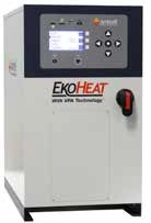 EKOHEAT 30 and 45 and 50 kW Used in preheating smaller drill bits for insert brazing.