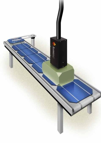 Optimizing solar cell assembly with induction heating