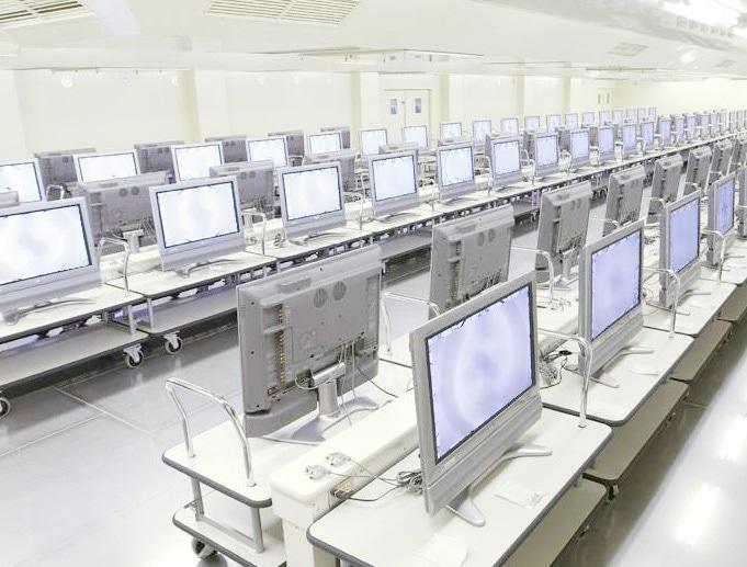 Một dòng thử nghiệm LCD