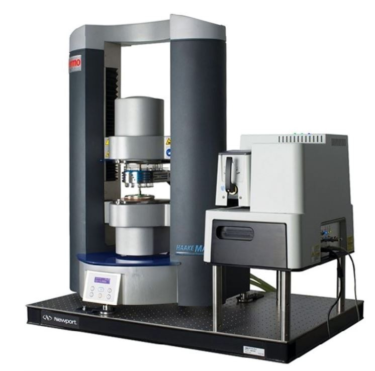 The Thermo Scientific HAAKE MARSXR RheoRaman System.