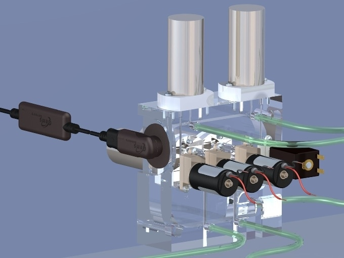 Gems Medical Sciences redesigned the manifold of a transport ventilator, reducing space requirements by 40%.
