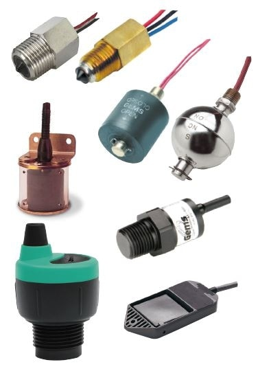Single-point level switches