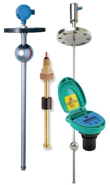 Continuous level transmitters