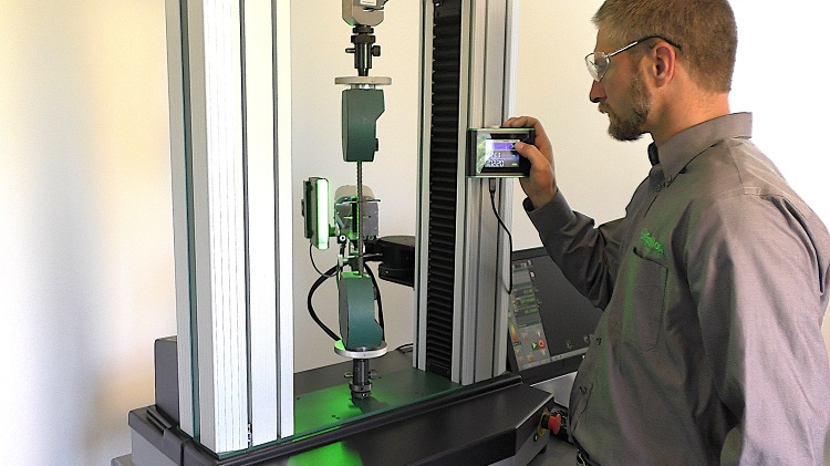 Reliable Non-Contact Strain Measurements for Materials Testing