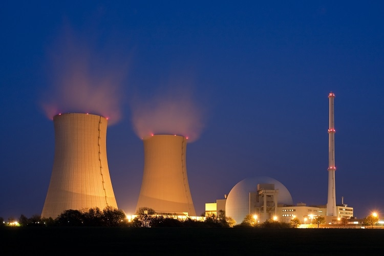 Nuclear Reactors often use molten sodium as a heat exchanger/ Image Credit:Thorsten Schier/Shutterstock