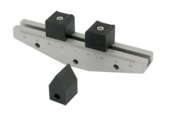 Hardened supports on a standard bend fixture