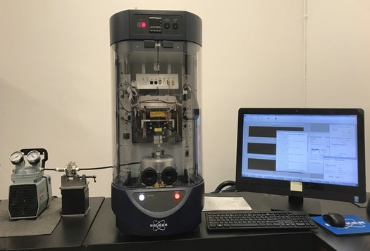 UMT TriboLab benchtop materials screening module with particle collection