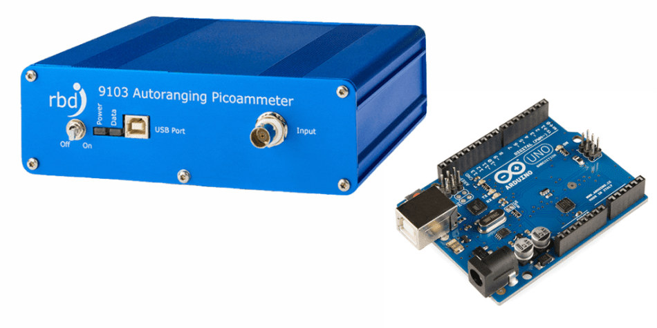 A 9103 Picoammeter and Arduino