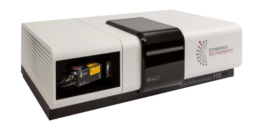 FS5 Spectrofluorometer equipped with picosecond pulsed diode laser.