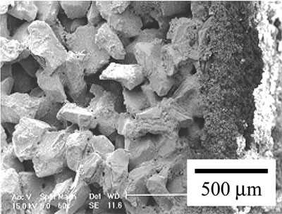Hot Gas Filtration Using Porous Silicon Carbide Filters