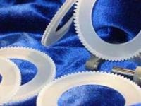 Machined hard ceramic gears