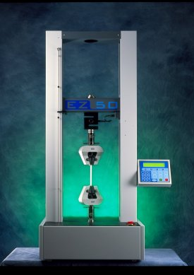 The EZ50 universal testing machine from lloyd Instruments.