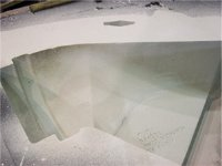 Surface finish of a sand mould with Nopatech™
