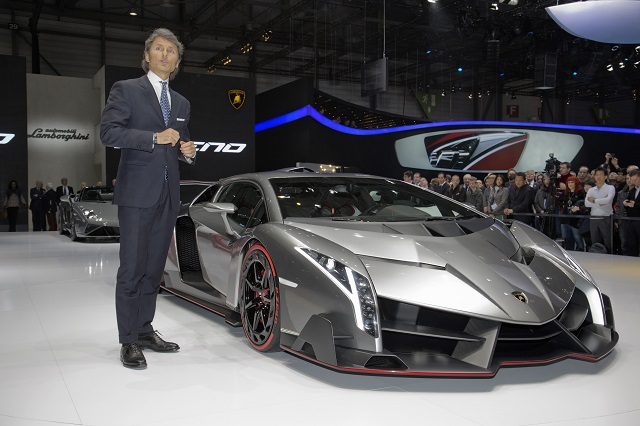 Materials Behind The Lamborghini Veneno