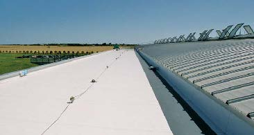 Puncture Testing Of Thermoplastic Roofing Fabrics